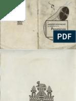 A Hungária Nagymozgó prospektusa (1913)