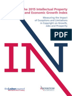 The 2015 Intellectual Property and Economic Growth Index (1)
