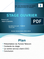 Stage Ouvrier
