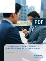 Nokia_Cost-Optimized Transport Evolution - Smarter Solutions for Mobile Operators