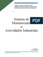 Sisteme de MSisteme de Monitorizare  a Activităților Industrial Monitorizare a Proceselor Industriale