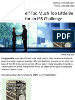Paying Yourself Too Much? Too Little? Be Ready for an IRS Challenge