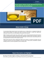 Rice Bran Oil Processing Plant Project Report