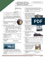 Naskah Soal Prediksi Us 2012 Ips Paket 1