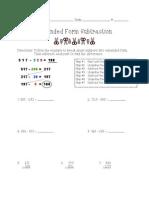 lesson 13 place value subtraction