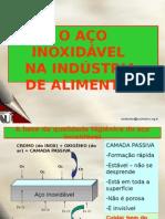 Aco Inox Na Industria
