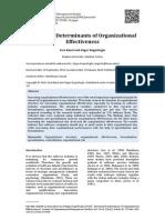 jurnal tpo determinan organisasi