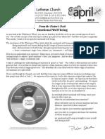 Newsletter, April 2015