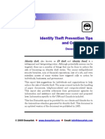 Demartek Identity Theft Prevention Tips and Commentary