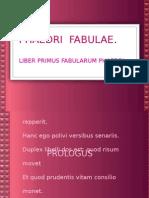 Fedro Fabulas Prologo
