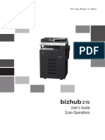 Bizhub 215 Ug Scan Operations en 1 1 0