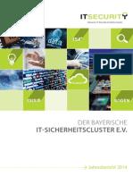 Jahresbericht Bayerischer IT-Sicherheitscluster e.V.