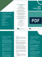 MCA Factsheet Debt Collection Mar11