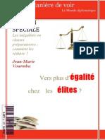 Les inégalités en Classes Préparatoires, par Jean-Marie Vouemba