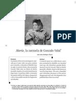 María, La Zarsuela de Gonzalo Vidal, Luis Carlos Rodríguez