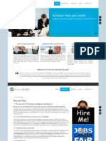 Online Resume Builder Report Html Feasibility Study
