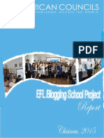 EFL Blogging School Report
