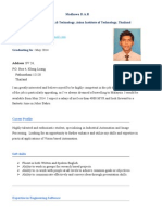 Resume - Madhawa D.a.R