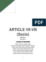 Article Vii- 8