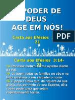 O PODER DE DEUS AGE EM NÓS Pra Irene Rodrigues