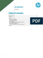 Hp Network Simulator - Irf Lab Guide