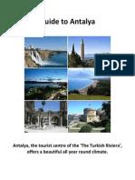 Guide to Antalya