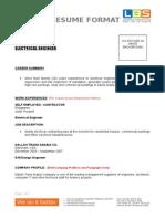 Lbs Esd Cv Format 2012