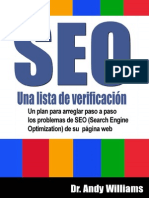 SEO, Una Lista de Verificacion - Andrew Williams Ph.D