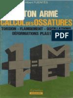 Béton Armé, Calcul Des Ossatures Torsion, Flambement, Oscillations, Déformations Plastiques