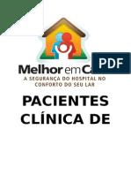 Pacientes Clínica de Fisioterapia