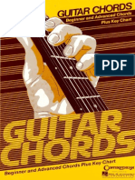 Guitar Chords - Beginner and Advanced Chords