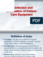 Disinfection and Sterilization