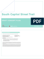 South Capitol Street Trail Draft Concept Plan - Chapters 1-3