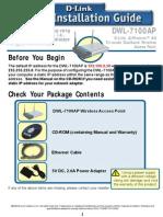 Dwl-7100ap Qig en Uk