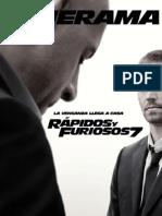 Rápidos y Furiosos 7 - Revista Cinerama