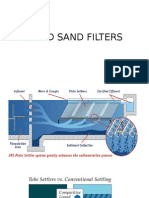 Rapid Sand Filter and Tube Settlers