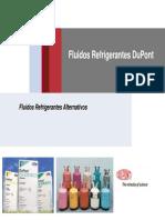Apresentação - Fluidos Refrigerantes DuPont