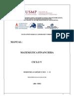 Manual Matemática Financiera - 2013 - i - II