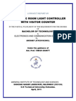 56211728 Automatic Room Light Controller With Bidirectional Visitor Counter