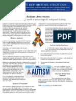 Stinziano Autism Awareness 2015