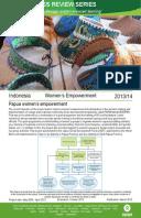 Women's Empowerment in Indonesia: Evaluation of Papua women's empowerment
