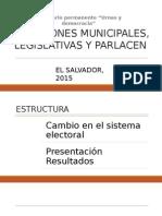 Elecciones Legislativas y Municipales El Salvador 2015