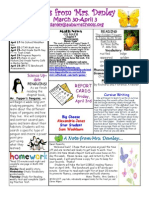 newsletter march 30-april 3