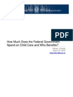 Child care benefits shifting away from families with kids in daycare