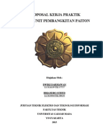 Proposal Kerja Praktik Pt. Pjb Up Paiton