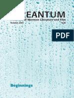 Irreantum, Volume 6, No. 2, 2004