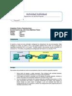 Formato de Actividad Individual Redes
