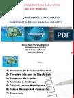 Strategic Marketing- A Panacea for Success of Nigerian O&G Industry