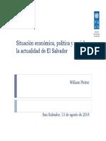 Sit. Econ. Politica y Social Es. 2014