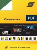 Catálogo de Máquinas de Solda ESAB